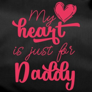 Vatertag: My Heart Is Just For Daddy - Sporttasche