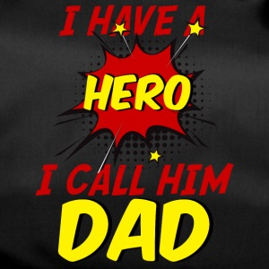 Vatertag: I Have A Hero. I Call Him Dad. - Sporttasche
