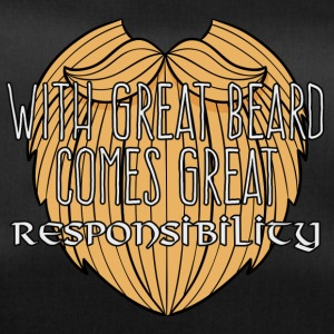 Wikinger: With Great Beard Comes Great Responsibil - Sporttasche