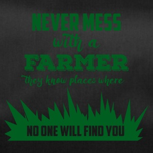 Farmer / Farmer / Farmer: Never mess with a Farme - Duffel Bag