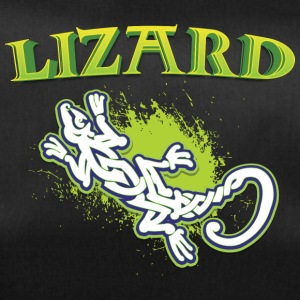 Cool tribal lizard - Sportsbag