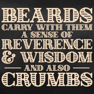 Beards carry crumbs - bart - Duffel Bag