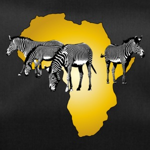 The Spirit of Africa - Zebras African Serengeti - Duffel Bag