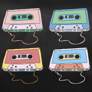 Music cassette compact cassette magnetic tape Retro - Duffel Bag