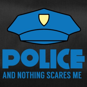 Polizei: Police And Nothing Scares Me - Sporttasche