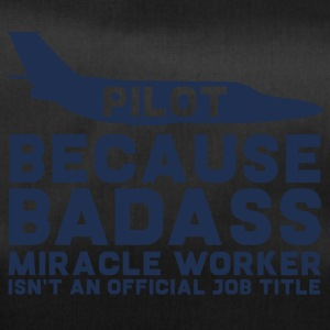 'Pilot, because Badass Miracle Worker isn't - Duffel Bag