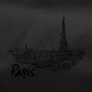 Paris - city view Sketch with Eiffel Tower - Duffel Bag