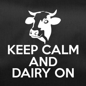 Cow / Farm: Keep Calm And Dairy On - Sportstaske