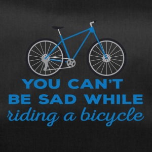 Bike: You can't be sad while riding a bicylce. - Duffel Bag