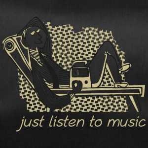 just music - Duffel Bag