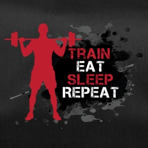 Train - Eat - Sleep - Repeat - Sporttasche