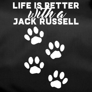 Hund / Jack Russell: Life Is Better With A Jack - Sporttasche