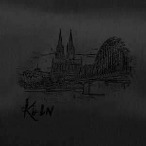Cologne, city view as a sketch - Duffel Bag