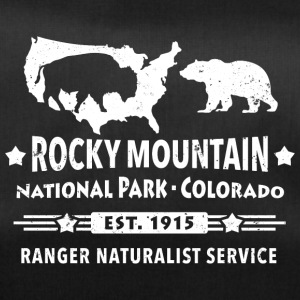 Bison Grizzly Rocky Mountain National Park Bjerge - Sportstaske