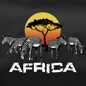 Zebra Africa Sunset Wildlife Safari Kenya - Duffel Bag