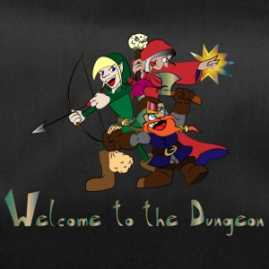 welcome to the dungeon - Bolsa de deporte