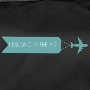 Pilot: I Belong In The Air. - Duffel Bag