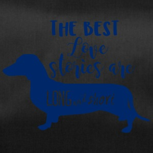 Dachshund / Dachshund: The Best Love Stories Are Long - Duffel Bag