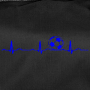 ECG HEARTBEAT le football bleu - Sac de sport