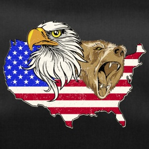 USA Adler eagle grizzly beer America America - Sporttas