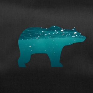 BEAR IN WATER - Sporttasche