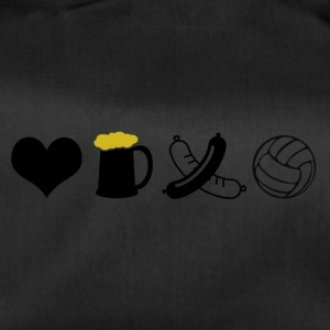Food, drink, volleyball - Duffel Bag