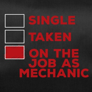 Mechanic: Single, Taken of op de baan als mechanische - Sporttas