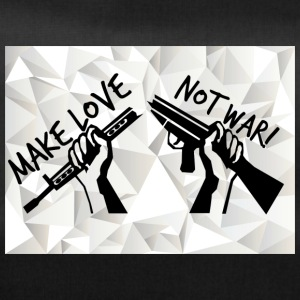 Make love - NOT WAR! (Vrede, Vrijheid, Anti War) - Sporttas