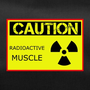 Caution Radioactive Muscle - Borsa sportiva