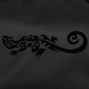 Cool tribal lizard - Duffel Bag