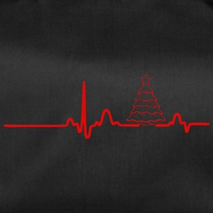 ECG HEARTLINK CHRISTMAS red - Duffel Bag