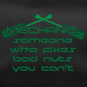 Mechaniker: Mechanic - Someone Who Fixes Bad Nuts - Sporttasche