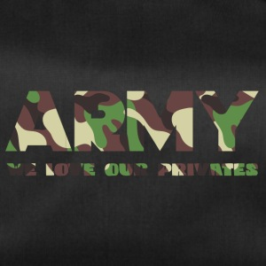 Militære / Soldiers: Army - We Love Our Private - Sportsbag