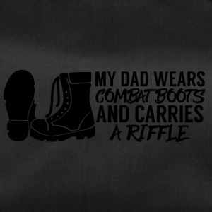 Military / Soldiers: My Dad Wears Combat Boots And - Duffel Bag