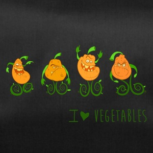 I love vegetables - Borsa sportiva