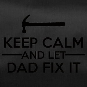 Vatertag: Keep Calm And Let Dad Fix It - Sporttasche