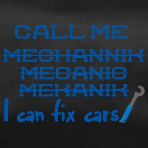Mechanic: Call Me Mechanic - ik kan auto's vast te stellen. - Sporttas
