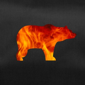 BEAR IN FIRE - Sporttasche