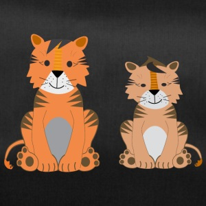 Two cute tigers - Duffel Bag