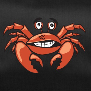 Crab Craps Funny shirt animal motif comic style - Duffel Bag