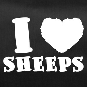 Ovins / ferme: I Love Sheeps - Sac de sport