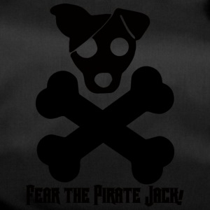 Hund / Jack Russell: Fear The Pirate Jack! - Sporttasche