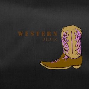 Western rider color - Duffel Bag