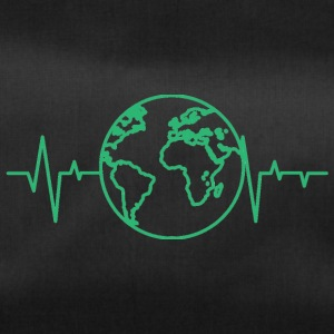 Earth Day / Earth Day: heart rate of the earth - Duffel Bag