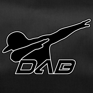 DAB black outline - Duffel Bag