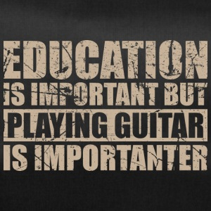Playing guitar is importanter - Musik - Sporttasche