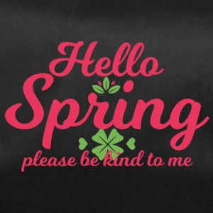 Spring Break / Springbreak: Hello Spring, please - Sporttasche