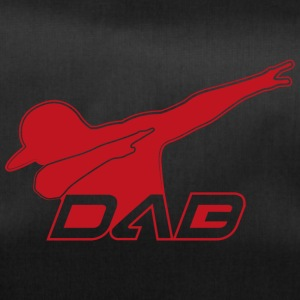 DAB red outline - Duffel Bag