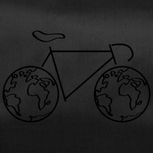 One the road - with the bike around the world. - Duffel Bag