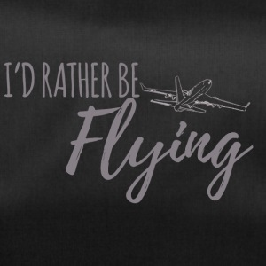Pilot: I'd rather be flying. - Duffel Bag